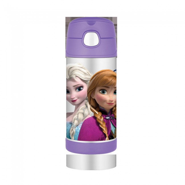 Thermos Funtainer Bottle 12 Ounce Frozen Purple