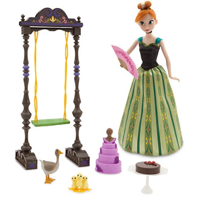 Disney Frozen Deluxe Anna Singing Doll Set 11 Quot Toys City