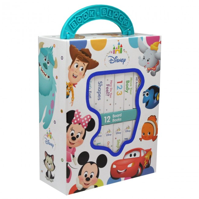 Disney Baby 12 Board Books Set