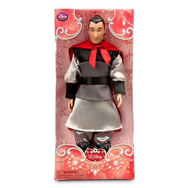 Li Shang Classic Doll Disney Mulan