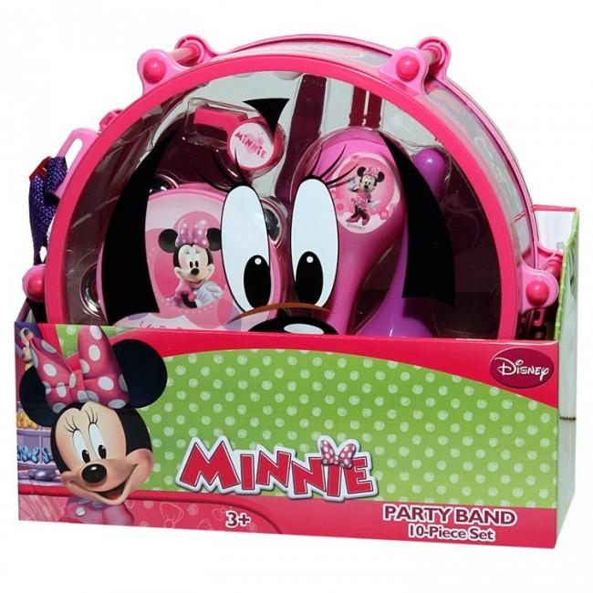Disney Minnie Mouse Drum Set Music Maracas Amp Tambourine
