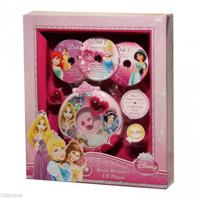 disney princess music player toy