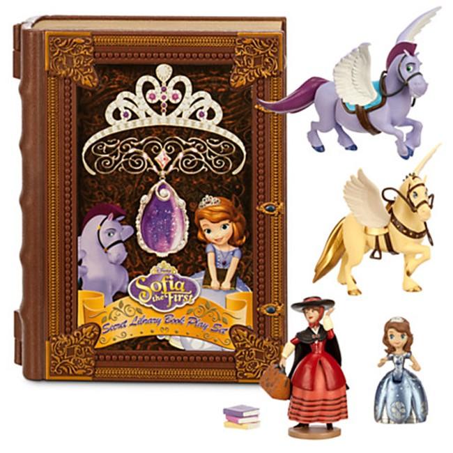 Sofia The First Secret Library Book Playset Toyscity Com Au