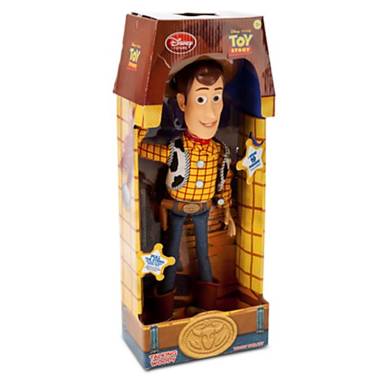 Toy Story Sheriff Woody Doll Cowboy Talking