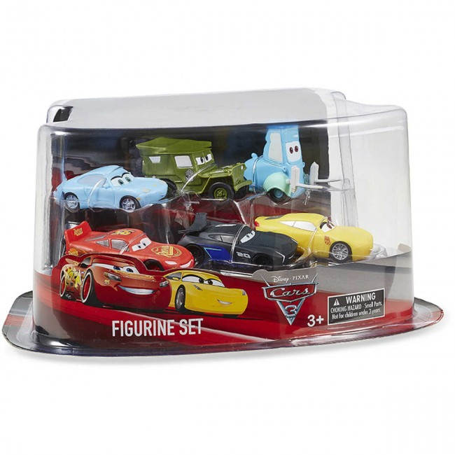 disney pixar cars 3 figurine set. Black Bedroom Furniture Sets. Home Design Ideas