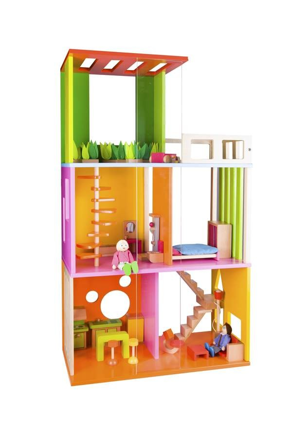 Modern Doll House By Classic World Toys Online Australia