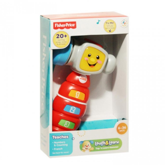 fisher price laugh  u0026 learn tap n learn hammer with music light and sounds