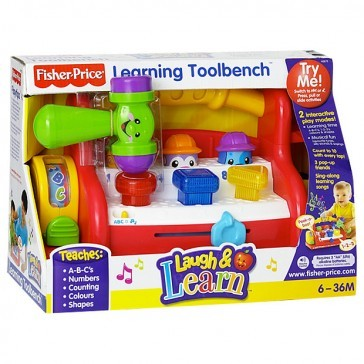 Fisher price laugh and learn learning tool bench toys city australia Fisher price tool bench