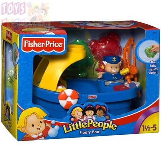 Little People Floaty Boat Bath Time Adventure Toy