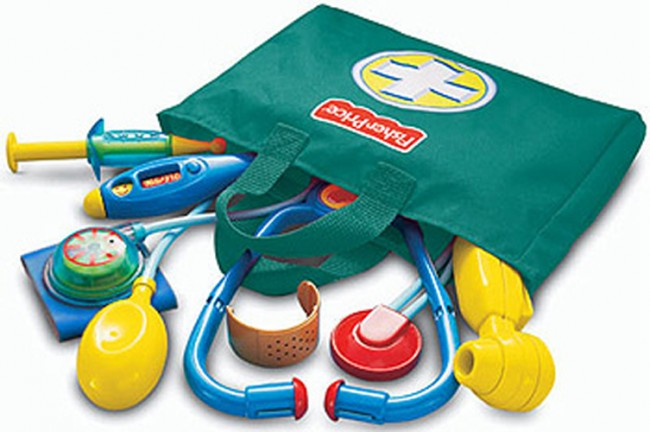 Toy Medical Kit : Fisher price doctor medical kit toy toys city online