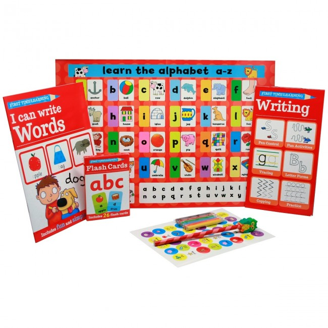 3288b36ae6 My First ABC Learning Pack First Time Learning Book Set