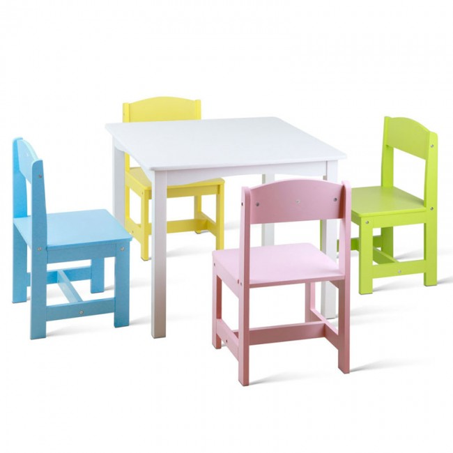 Pleasant Kids Table And Chair Set Creativecarmelina Interior Chair Design Creativecarmelinacom