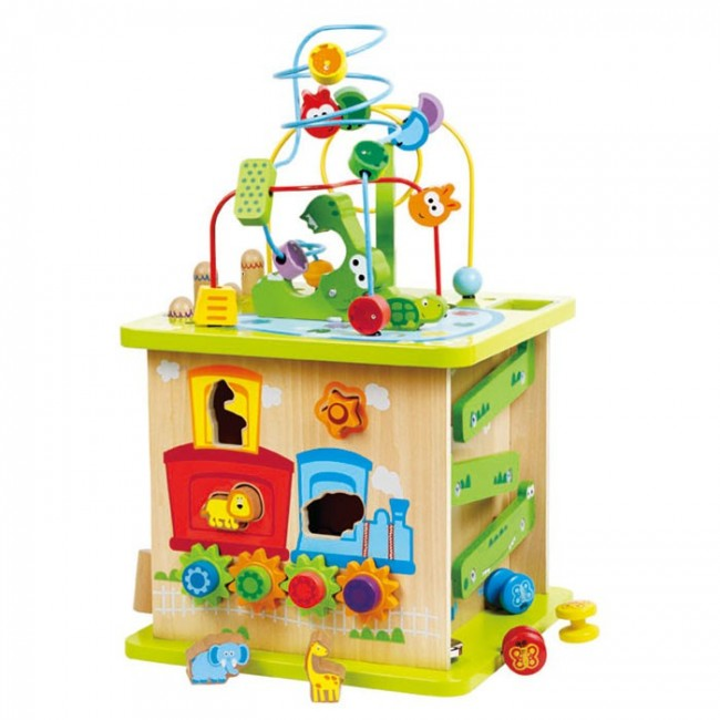 Hape Wild Safari Adventure Centre Baby Activity Toy