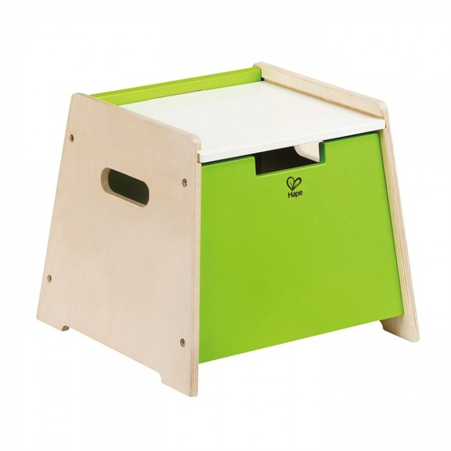 Hape Sit And Stow Stool
