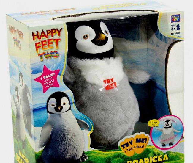 Happy Feet Two Penguin Dancing Boadicea Toys City Australia