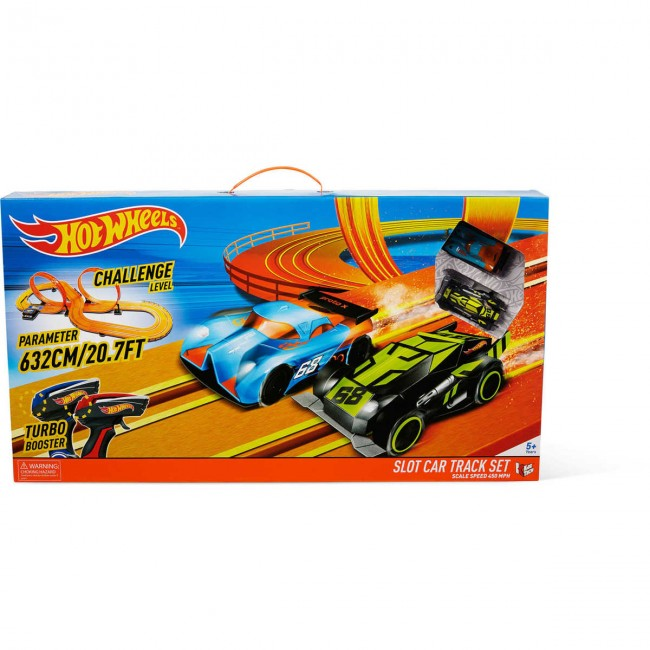 Hot Wheels Slot Car Racing Track Set