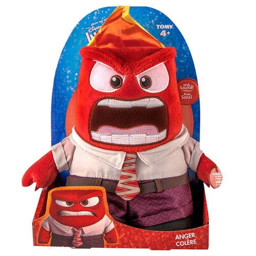 inside out anger plush with sounds