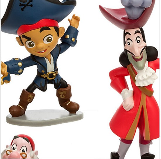 Jake And The Neverland Pirates Figure Play Set  Disney Toys