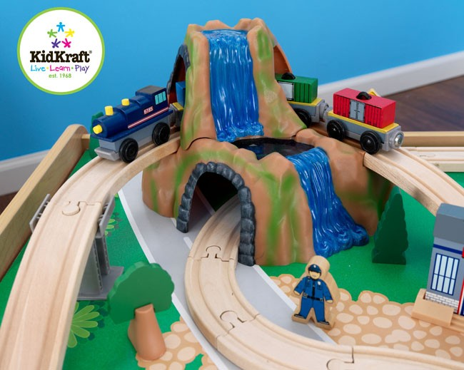 Kidkraft Ride Around Town Train Table And Set 17836