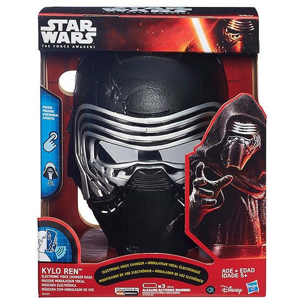 Hasbro Star Wars Kylo Ren Mask Voice Changer The Force