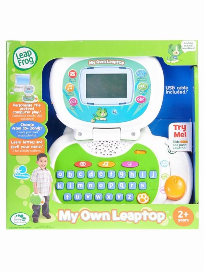 Leap Frog My Own Leaptop Laptop Toys Green Leapfrog