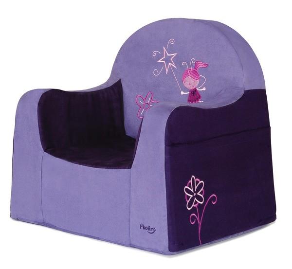 Playful Embroidery Little Reader Fairy Purple Children