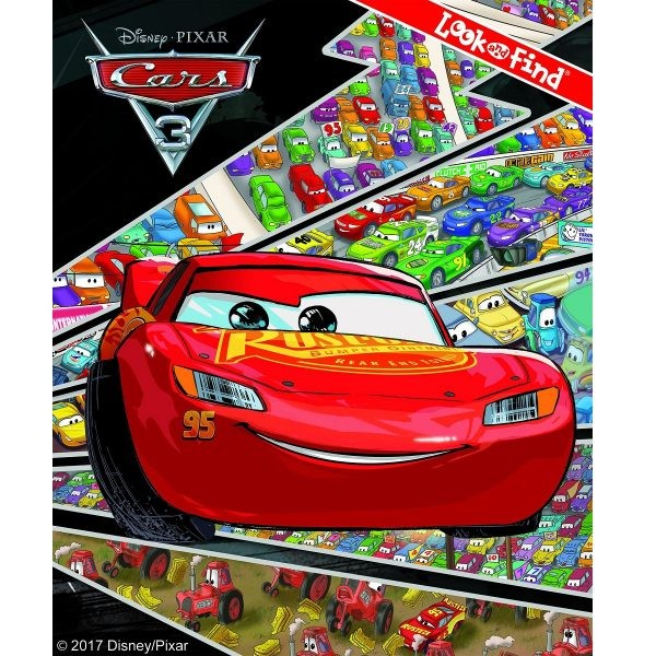 disney cars 3 look find book lightning mcqueen