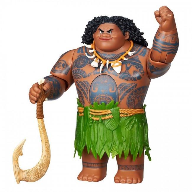 Disney Moana Swing N Sounds Talking Maui Figure Doll