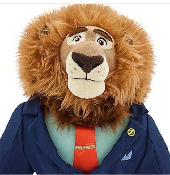 Mayor Leodore Lionheart Plush Zootopia 16