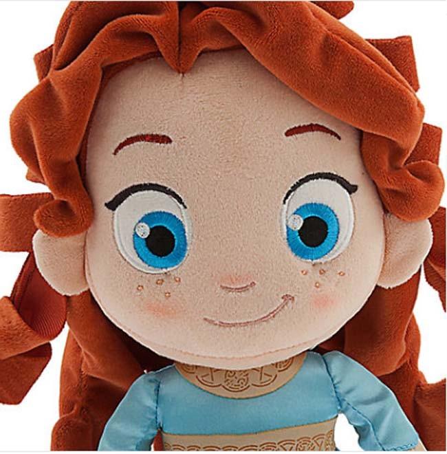 Disney Cindy Toddler Doll H15: Merida Plush Doll Toddler