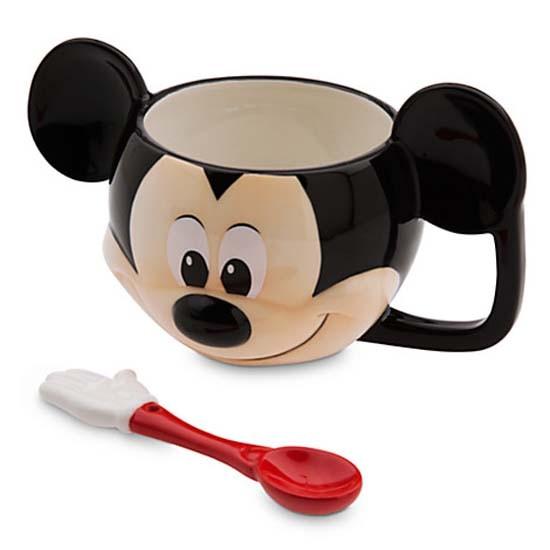 Mickey Mouse Mug And Spoon Set Toys City Australia
