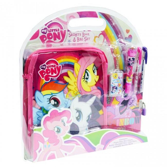 My Little Pony Secret Book And Bag Set Toys City Australia