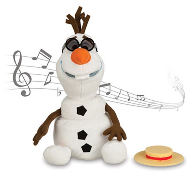 Disney Frozen Olaf Singing Plush Doll Toys City Australia
