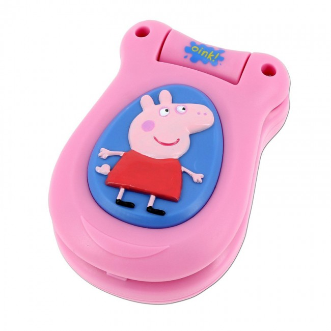 peppa pig little mobile phone toy