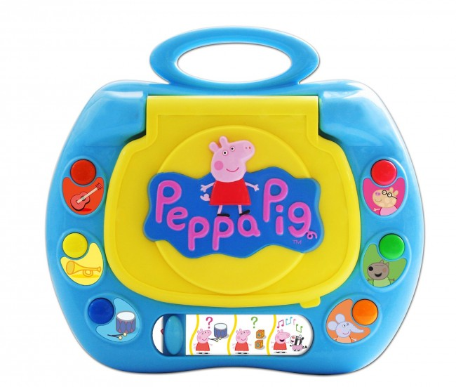 Peppa Pig My First Laptop Kids Notebook Computertoy