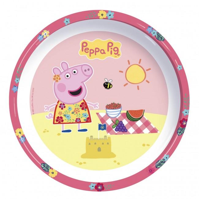 Peppa Pig plate  sc 1 st  Toyscity Toyscity & Peppa Pig Kids Feeding Set Plate Bowl Cup - Toys City Australia