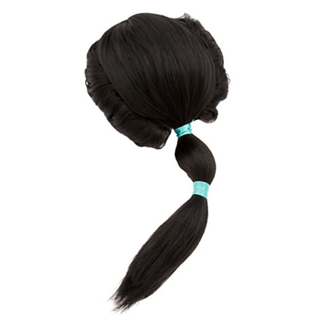 Princess Jasmine Wig Hair For Kids Costume Accessories