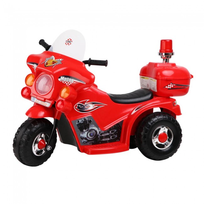 Kids Ride On Motorbike Red Toy Ride On Bikes Toy For Toddler