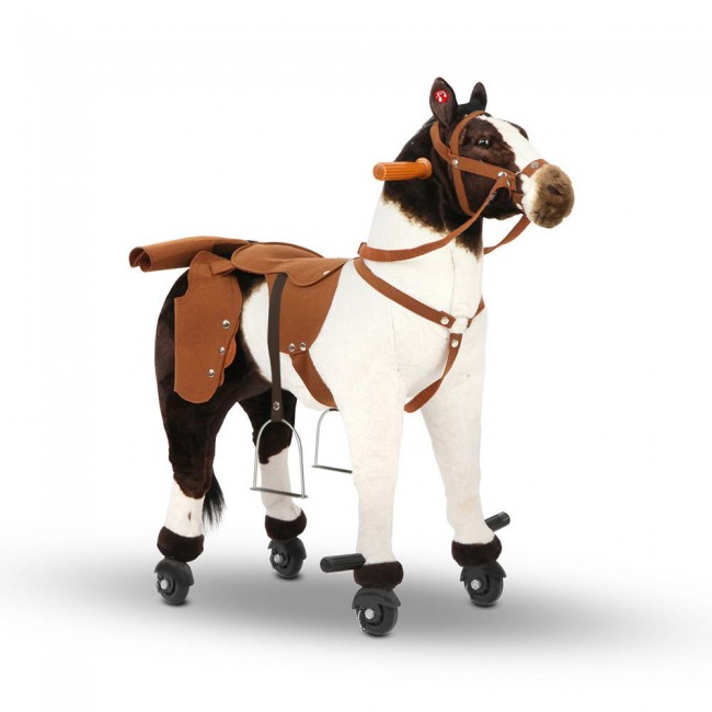Ride On Toy Horse Pony White Riding Horse Toy For Kids