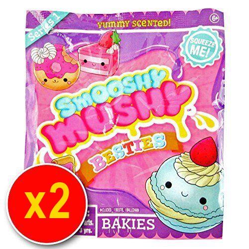 2 X Smooshy Mushy Besties Series 1 Blind Bag Bakies