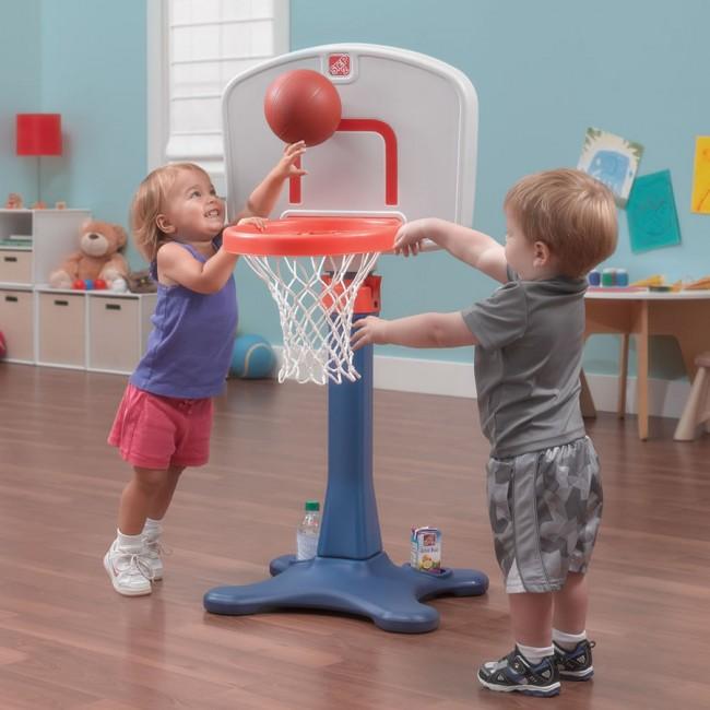 Step2 Shooting Hoops Junior Basketball Set