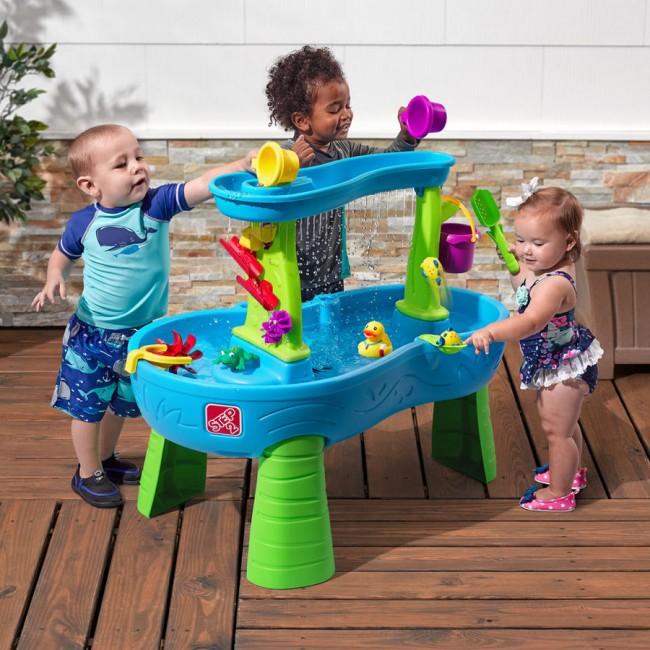 Step2 Rain Showers Splash Pond Water Table Kids Toy