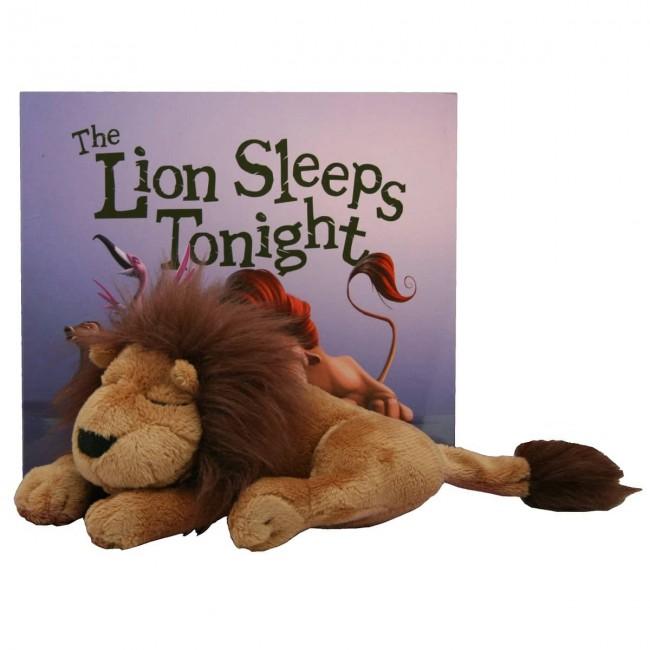 The Lion Sleeps Tonight Book Amp Plush