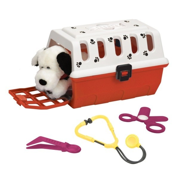Vet Kit With Cage Kids Toy
