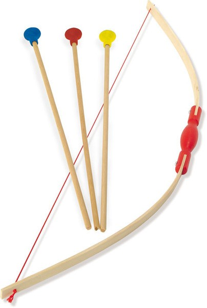 Bow And 3 Arrows By Vilac Archery Children Wooden Sports
