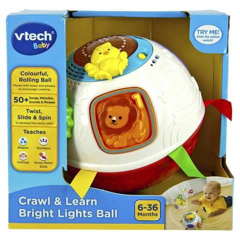 Buy Vtech Baby Crawl Amp Learn Bright Lights Ball Online At