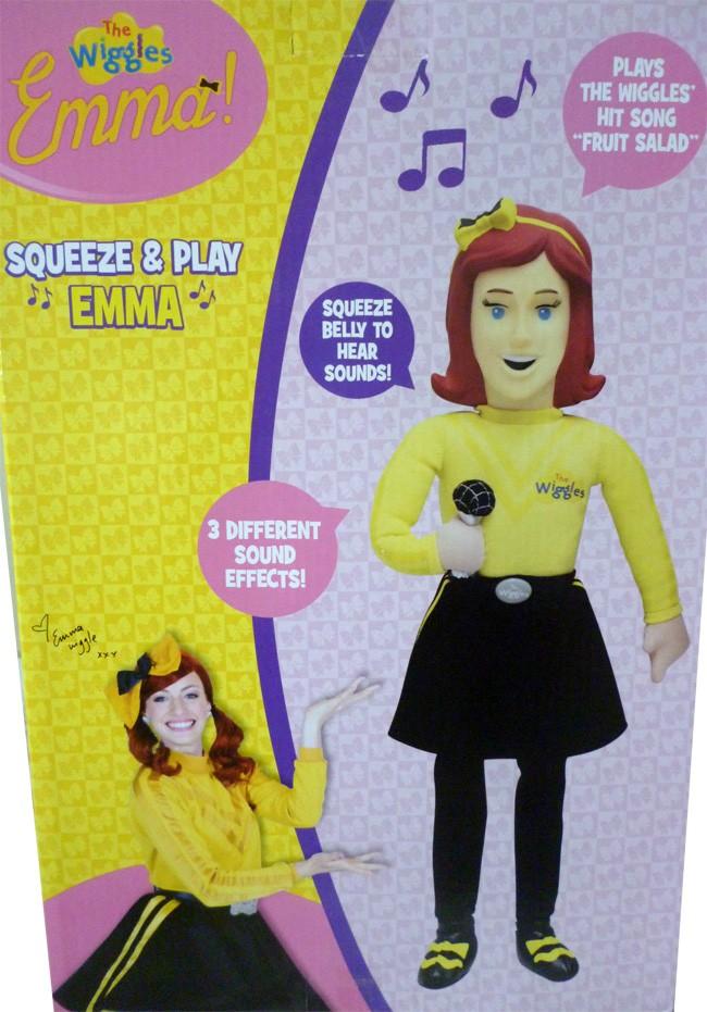 The Wiggles Emma Plush Singing