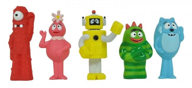 Yo Gabba Gabba Gang Figures 5 Figurines Set