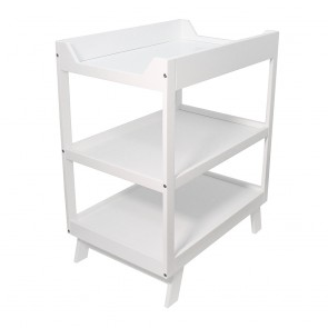 Euro 3 Tier baby Change Table - White