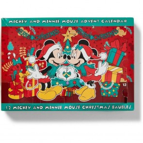 Disney Mickey & Minnie Mouse Bauble Advent Calendar